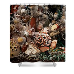 Shower Curtain featuring the photograph Art Of Recycling by Ivete Basso Photography