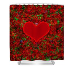 Art Of The Heart 2 Shower Curtain