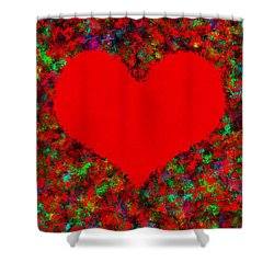 Art Of The Heart Shower Curtain