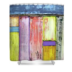 Art Print Abstract 47 Shower Curtain