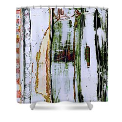 Art Print Forest Shower Curtain