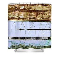 Art Print Malibu Shower Curtain