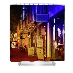Art Row - Fredericksburg, Virginia Shower Curtain