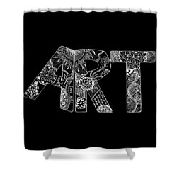 Art Within Art Shower Curtain