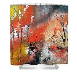 Art Work Shower Curtain by Sheila Mcdonald