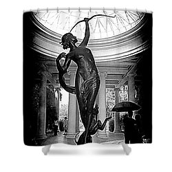 Shower Curtain featuring the photograph Artemis At Huntington Library by Lori Seaman