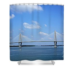 Arthur Ravenel Jr. Bridge - Charleston Shower Curtain
