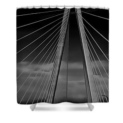 Arthur Ravenel Jr Bridge Shower Curtain