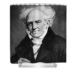 Arthur Schopenhauer Shower Curtain by Granger