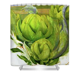 Artichoke  Unfinished Shower Curtain