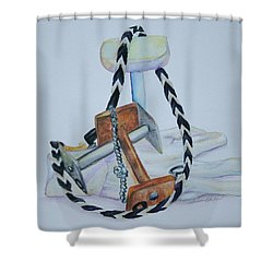 Article Pile Shower Curtain