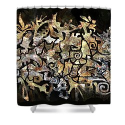 Artifacts Shower Curtain
