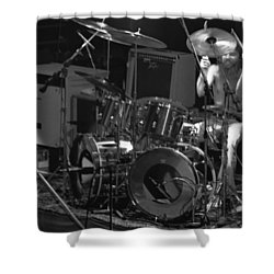 Artimus Pyle At Winterland Shower Curtain by Ben Upham