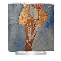 Artist Shower Curtain by Dr Frederick Glover