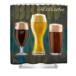 Artisan Brew Shower Curtain
