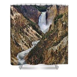 Artist Point Lower Falls Shower Curtain