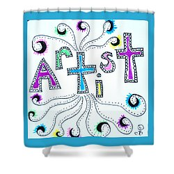 Artist Shower Curtain