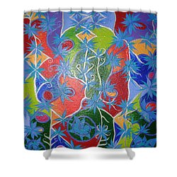 Artistic Acomplishments Shower Curtain by Joanna Pilatowicz