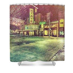Artistic Ann Arbor Shower Curtain