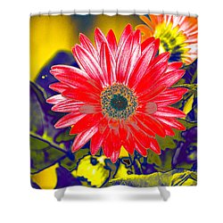 Artistic Bloom - Pla227 Shower Curtain by G L Sarti