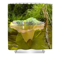 Artistic Double Shower Curtain by Leif Sohlman