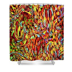 Artistic Flair Shower Curtain