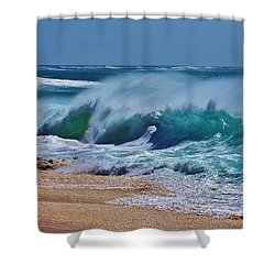 Artistic Wave Shower Curtain by Craig Wood