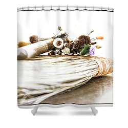 Artist's Tools Shower Curtain
