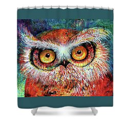 Artprize Hoot #1 Shower Curtain