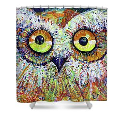 Artprize You That's Hoo Audience Participation Shower Curtain
