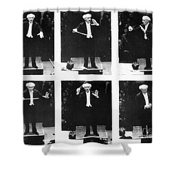 Arturo Toscanini Shower Curtain by Granger