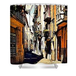 Artwork Palma De Mallorca Spain Shower Curtain