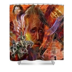 Impossible Dream Shower Curtain