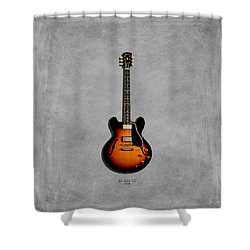 Gibson Es 335 1959 Shower Curtain by Mark Rogan