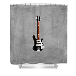 Rickenbacker 4001 1979 Shower Curtain by Mark Rogan