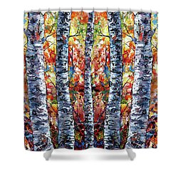 Aspen Up 2 Shower Curtain