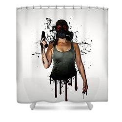 Bellatrix Shower Curtain by Nicklas Gustafsson