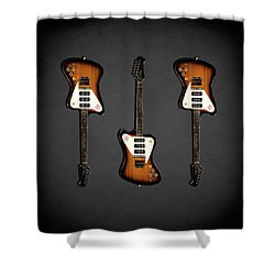 Gibson Firebird 1965 Shower Curtain