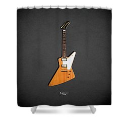 Gibson Explorer 1958 Shower Curtain