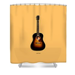 Gibson Original Jumbo 1934 Shower Curtain by Mark Rogan