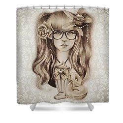 Vanilla Shower Curtain