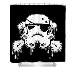 Pirate Trooper Shower Curtain