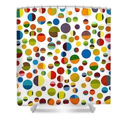 Found My Marbles 2.0 Shower Curtain