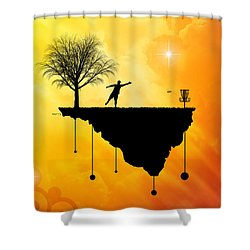 Putt Plastic In Its Place Shower Curtain