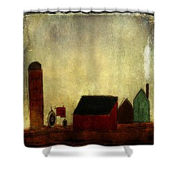 Barnyard Lullaby From Ginkelmier Land Shower Curtain