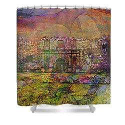 Alamo - After The Fall Shower Curtain
