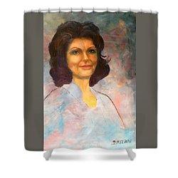 Selfportrait Shower Curtain