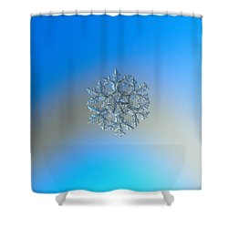 Snowflake Photo - Gardener's Dream Shower Curtain