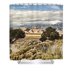 Great Sand Dunes National Park And Preserve Shower Curtain