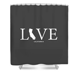 Ca Love Shower Curtain by Nancy Ingersoll